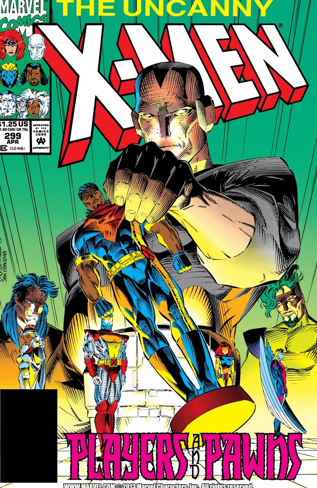 Uncanny X-Men (1963) issue 299 - Page 1