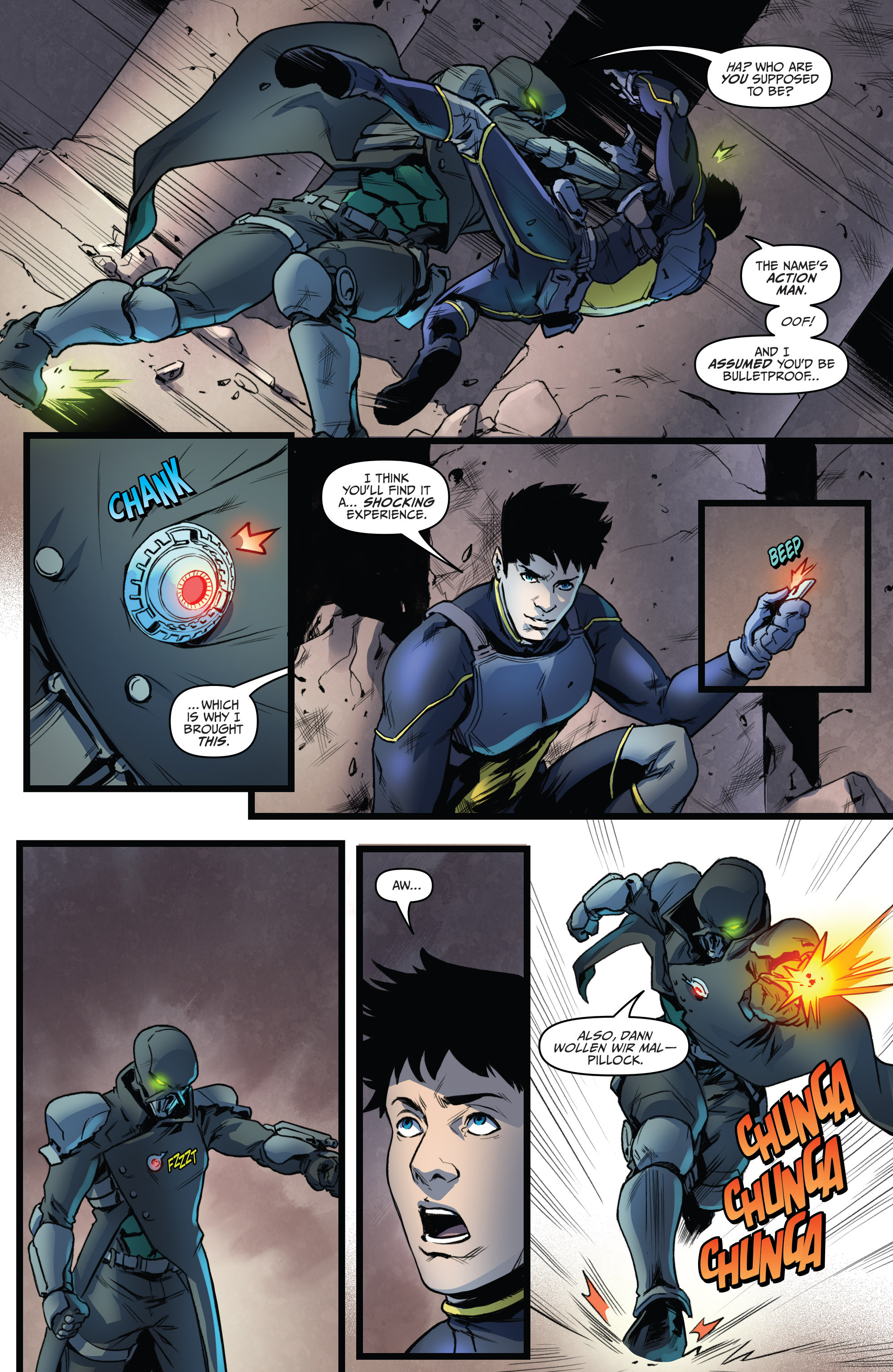 Read online Action Man comic -  Issue #2 - 21