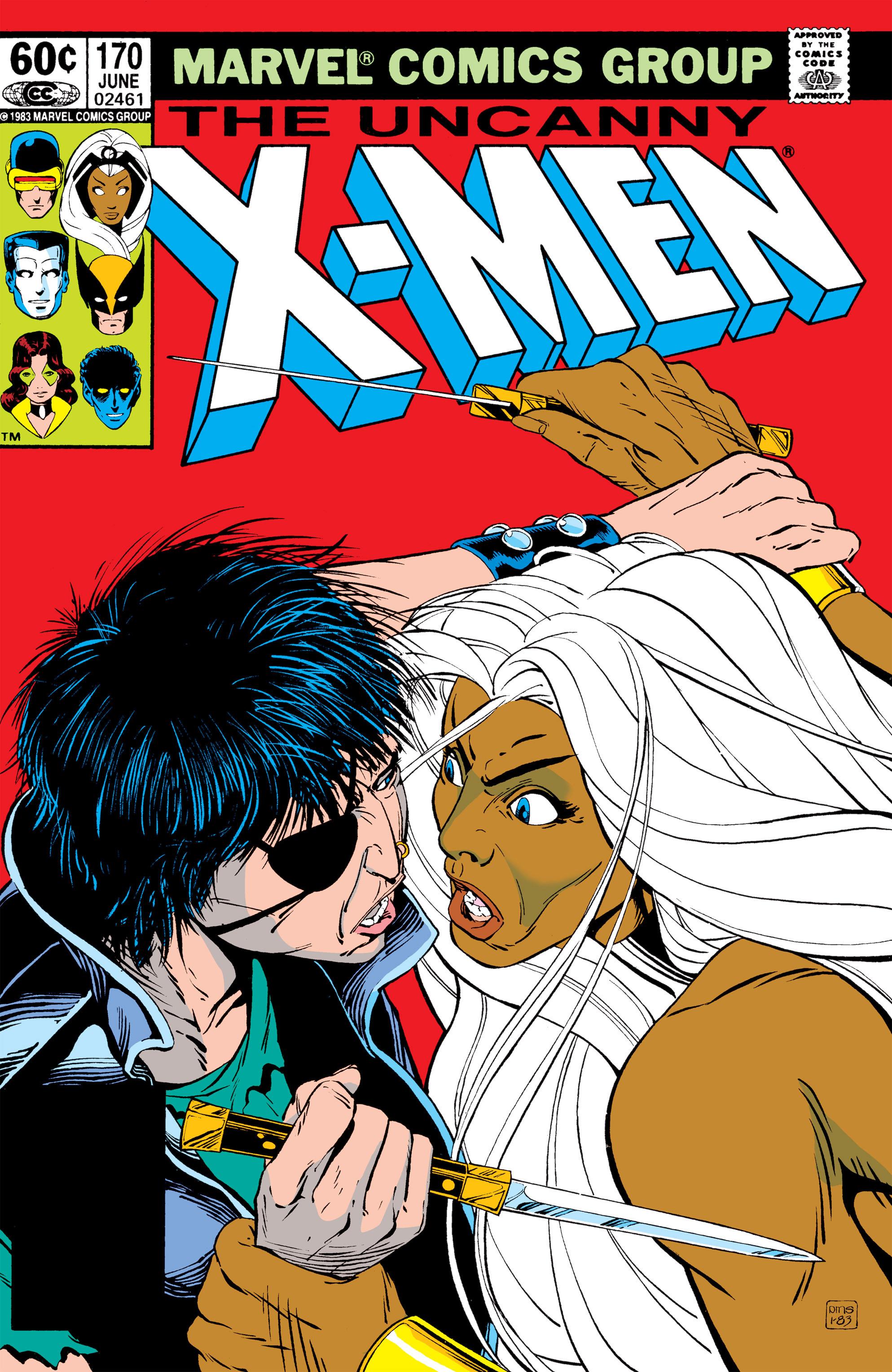 Uncanny X-Men (1963) 170 Page 1