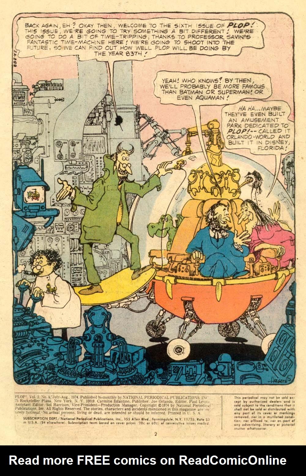 Read online Plop! comic -  Issue #6 - 3