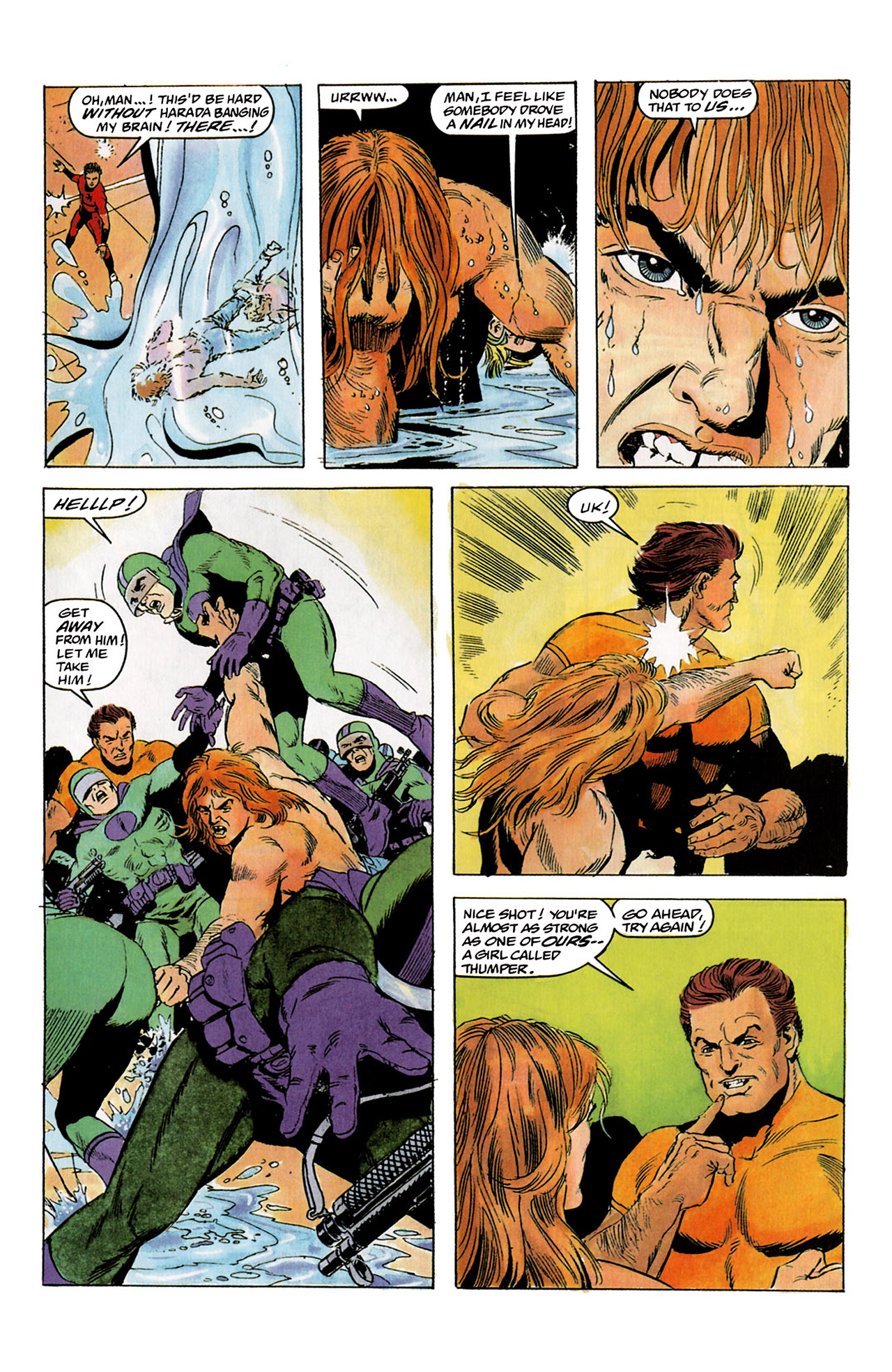 Read online Harbinger (1992) comic -  Issue #2 - 22