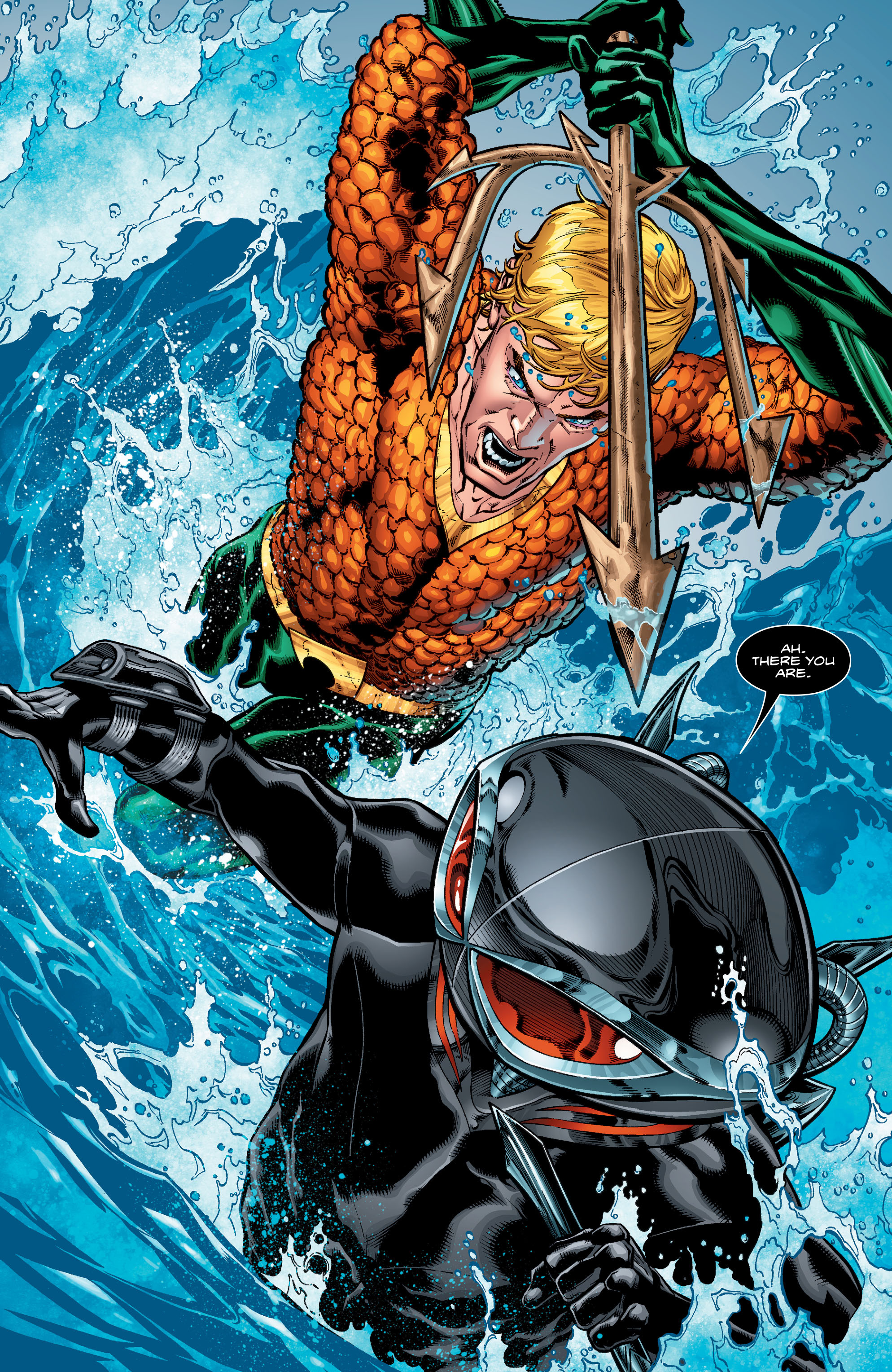 Read online Aquaman (2016) comic -  Issue #1 - 21