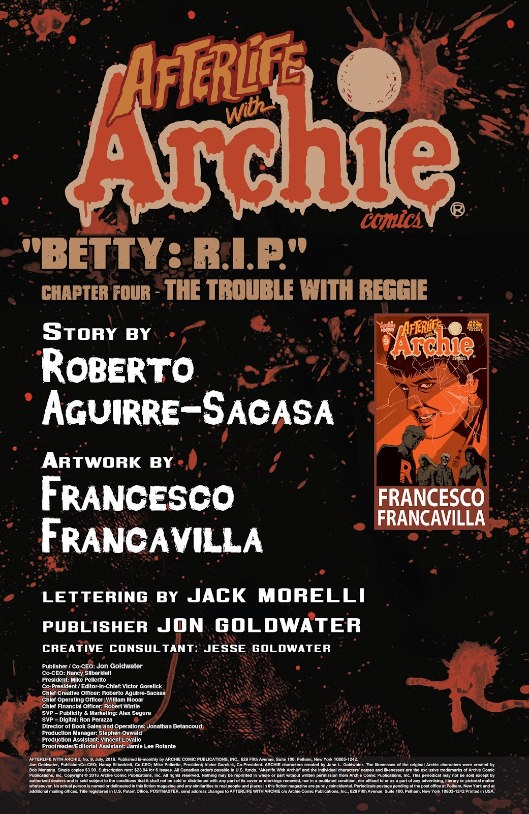 Afterlife with Archie issue 9 - Page 2
