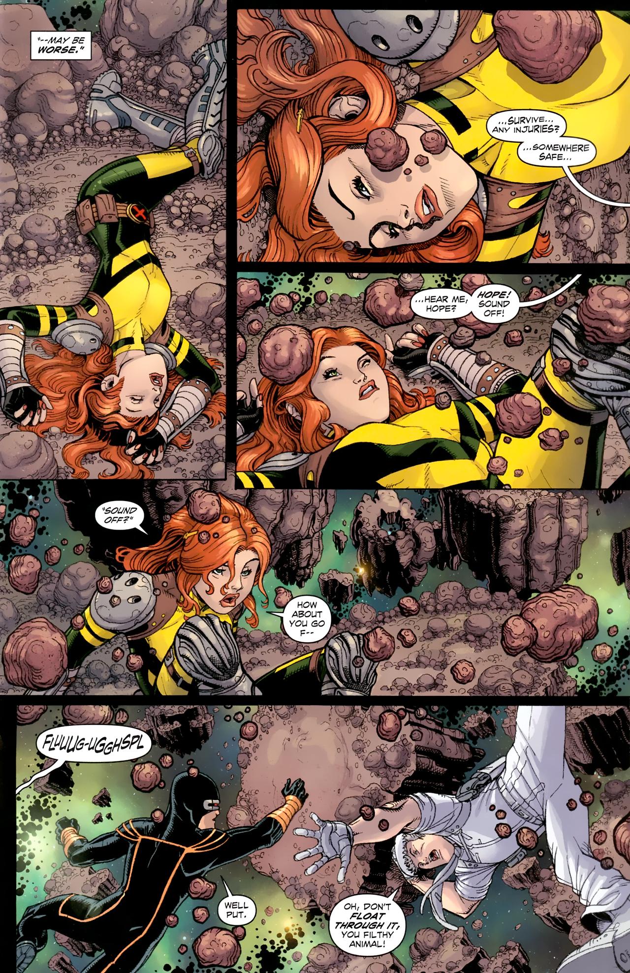 Read online Uncanny X-Men (1963) comic -  Issue # _Annual 3 (2011) - 10