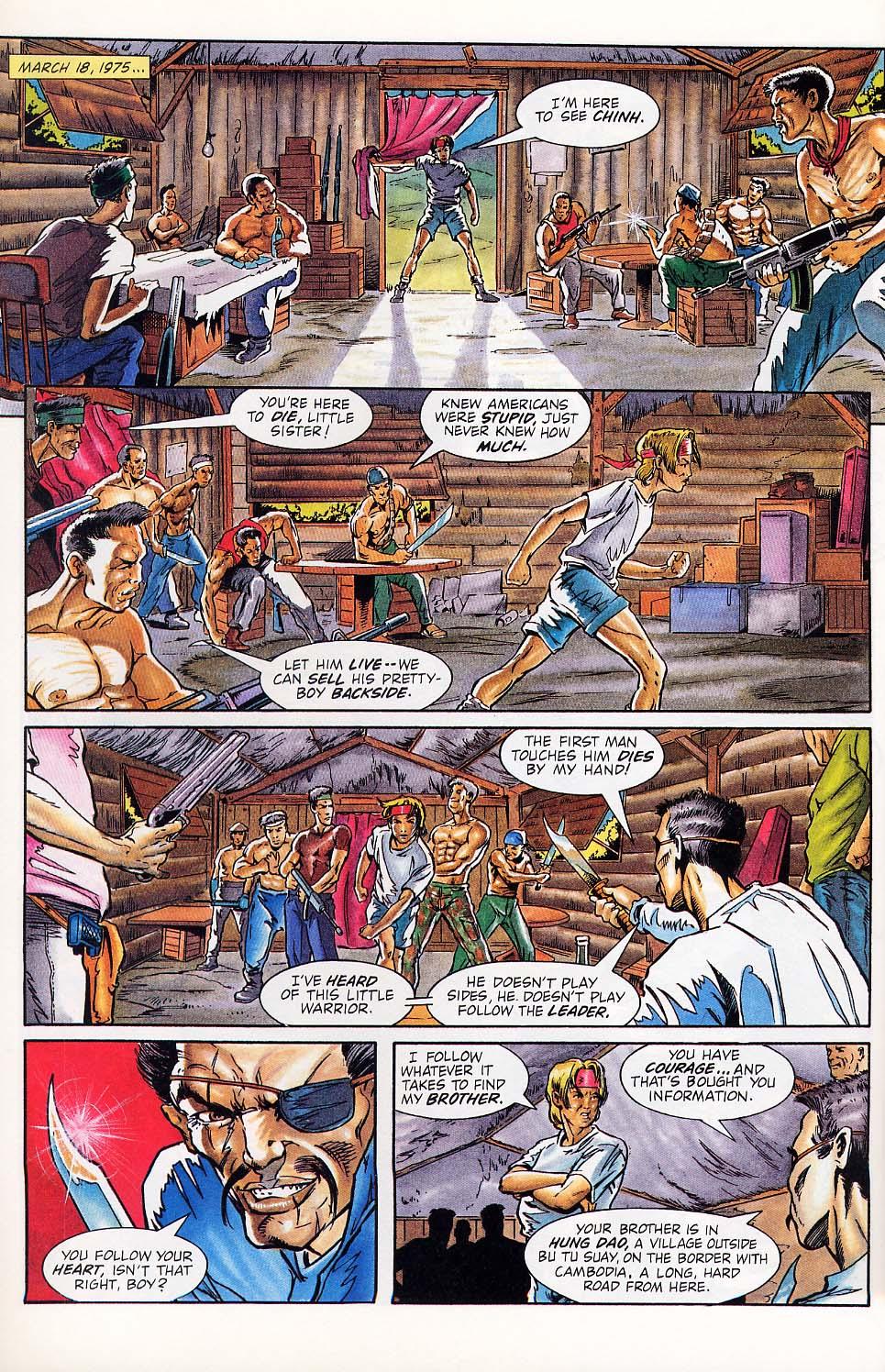 Read online Charlemagne comic -  Issue #1 - 17