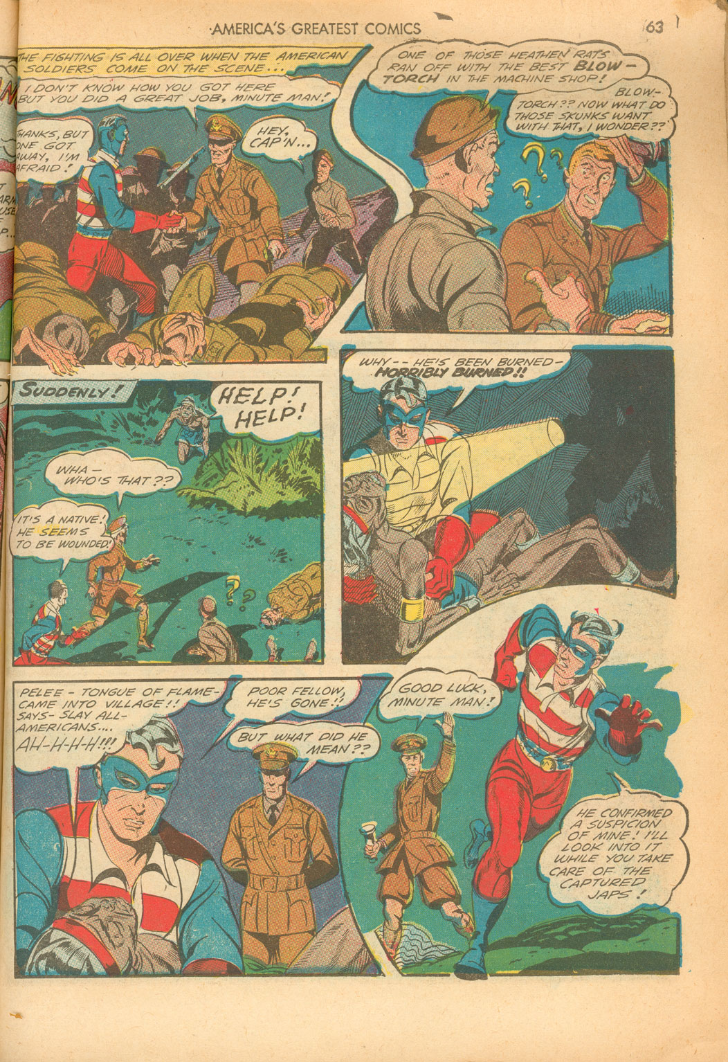 Read online America's Greatest Comics comic -  Issue #5 - 63