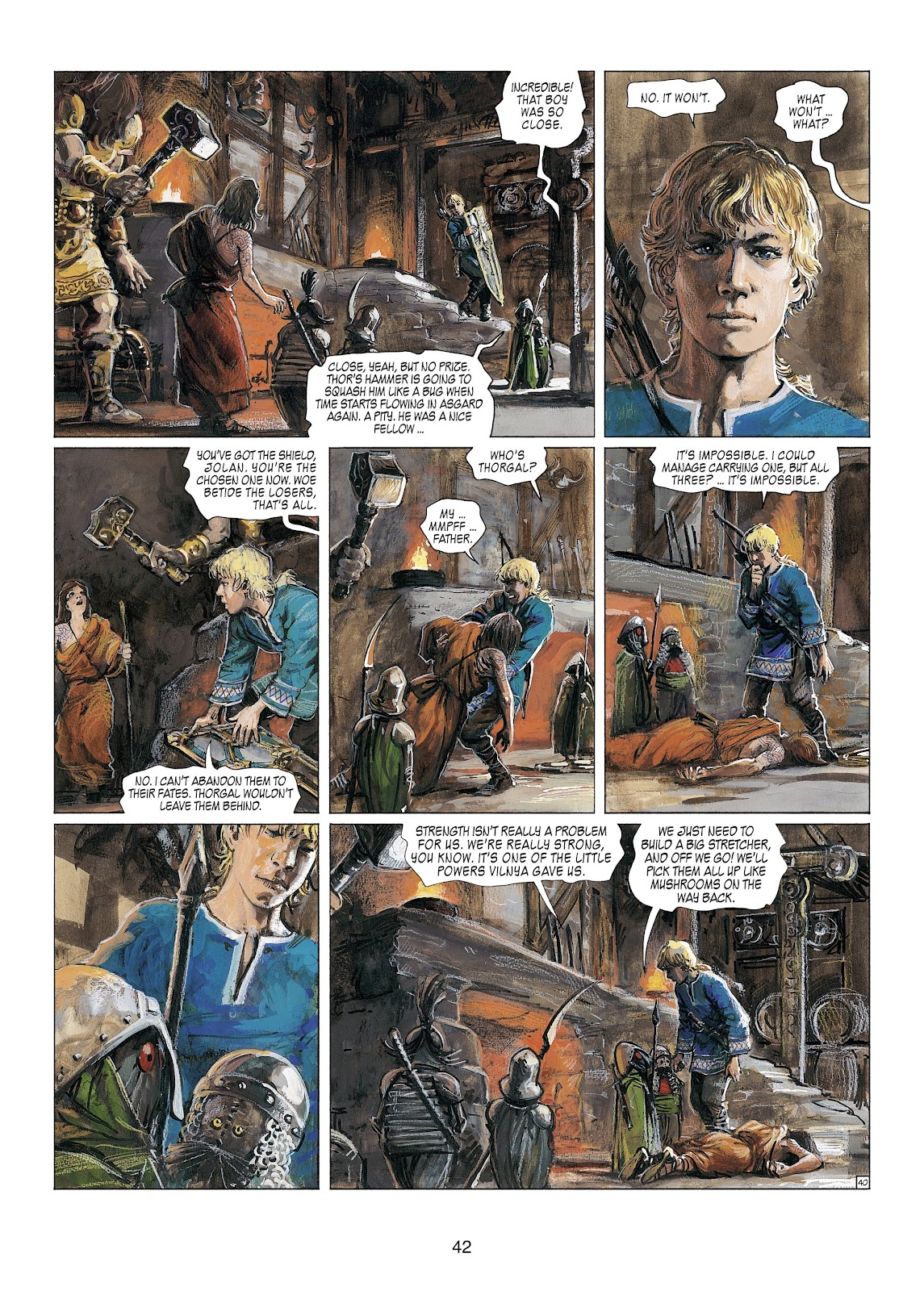 Read online Thorgal comic -  Issue #23 - 44