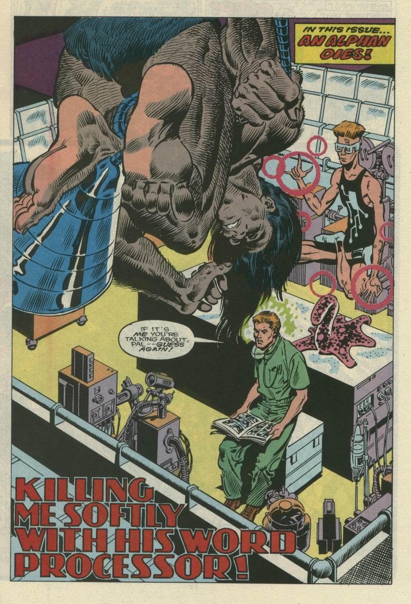 Read online Alpha Flight (1983) comic -  Issue #66 - 3