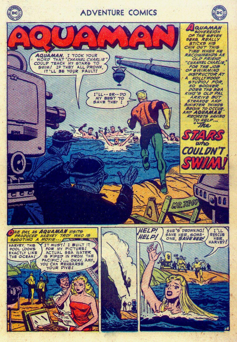 Read online Adventure Comics (1938) comic -  Issue #201 - 17