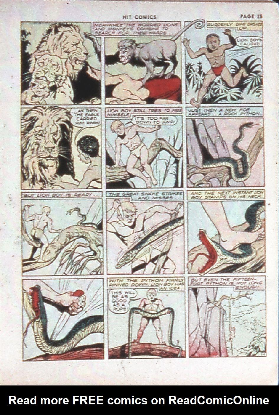 Read online Hit Comics comic -  Issue #10 - 27