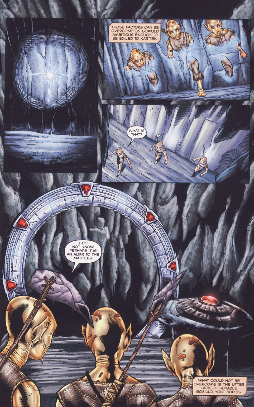 Read online Stargate SG-1: Fall of Rome comic -  Issue #1 - 5