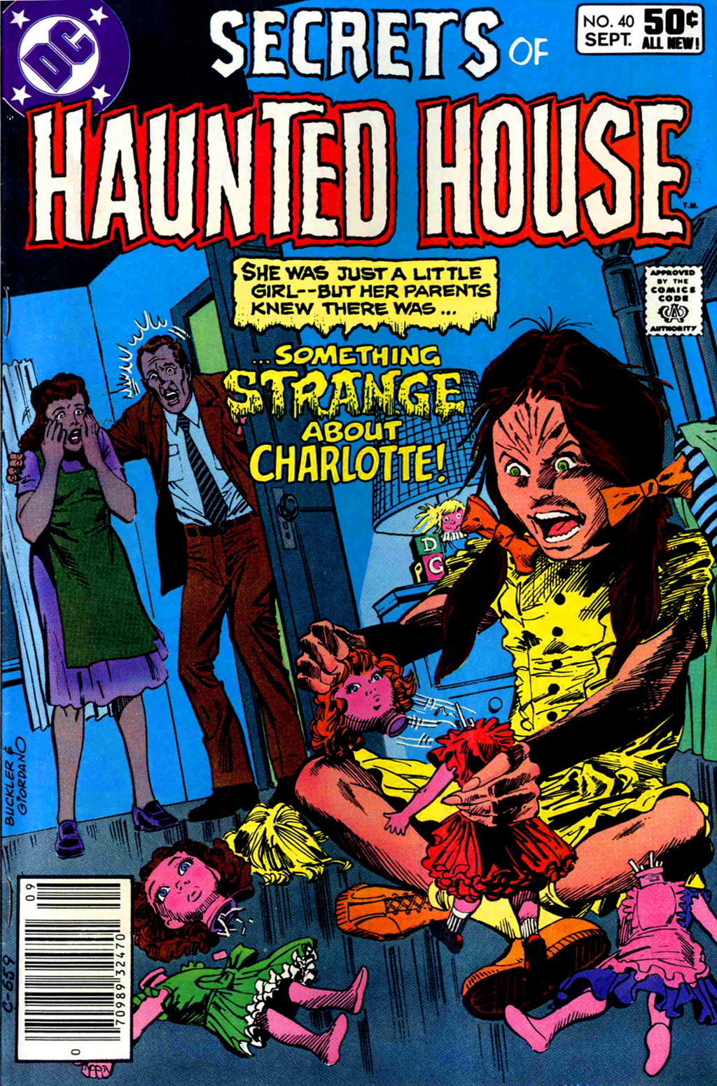 Read online Secrets of Haunted House comic -  Issue #40 - 1