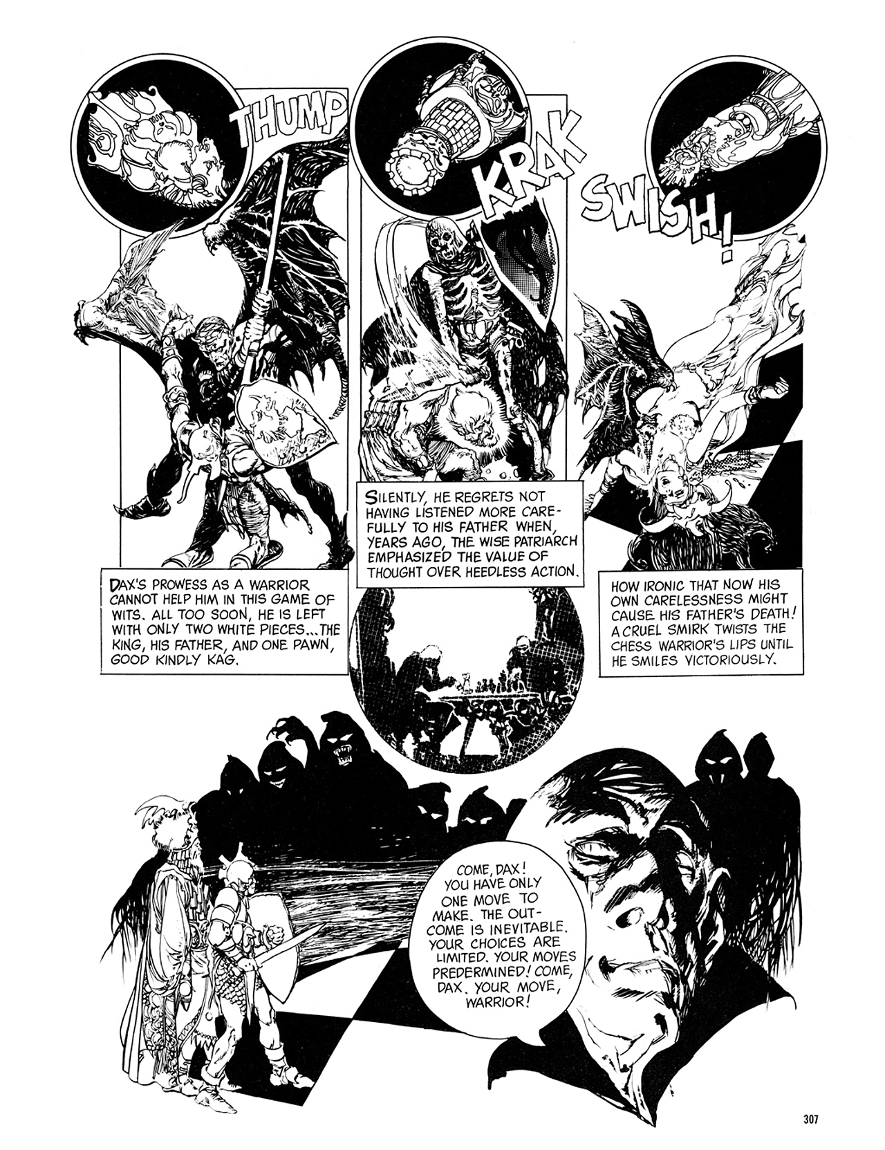 Read online Eerie Archives comic -  Issue # TPB 8 - 308
