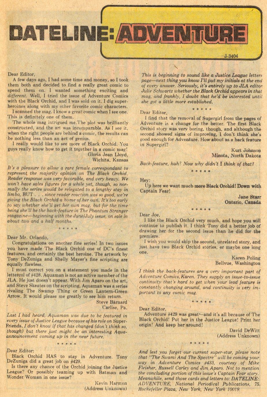 Read online Adventure Comics (1938) comic -  Issue #432 - 25