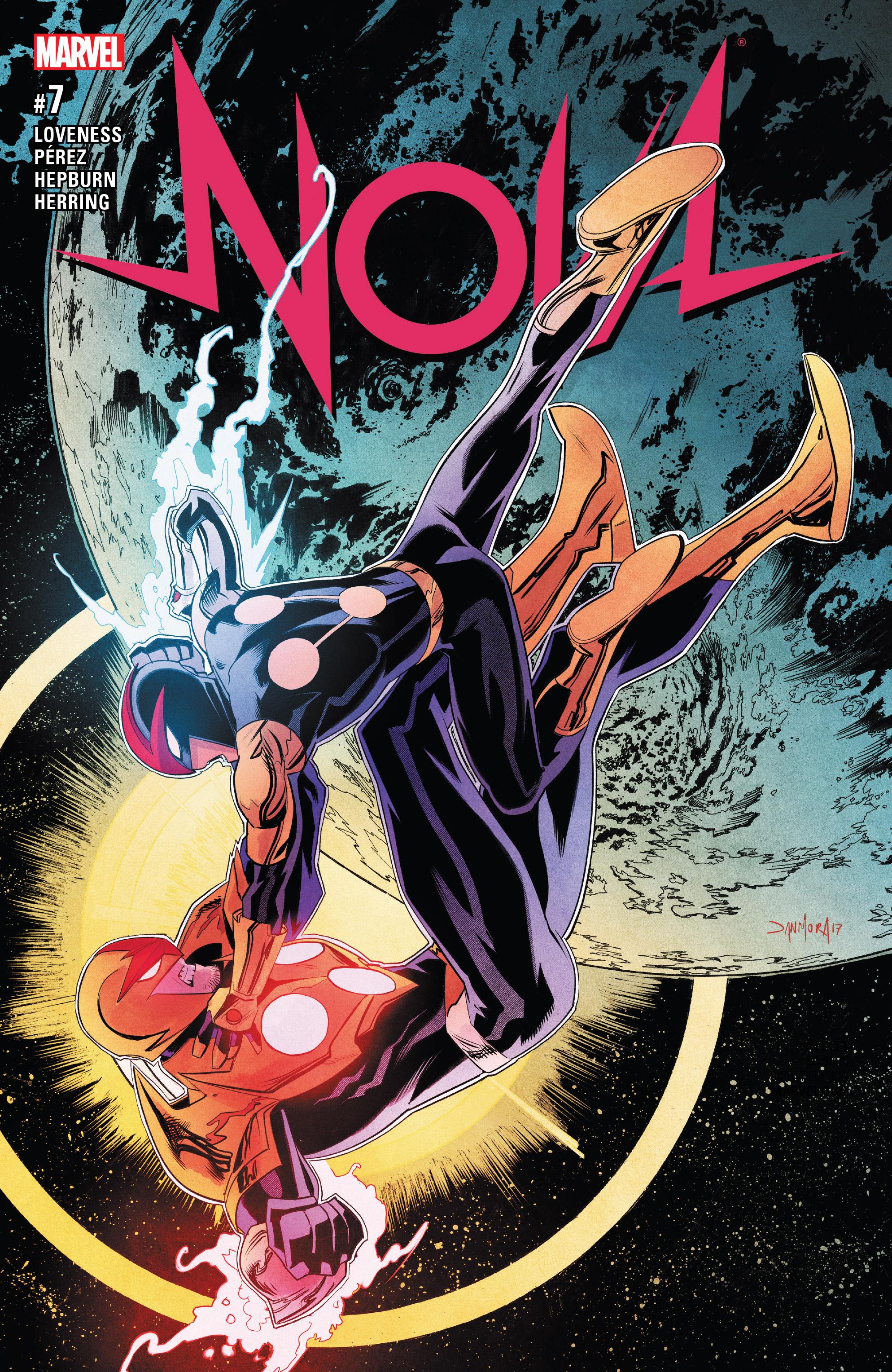 Read online Nova (2017) comic -  Issue #7 - 1