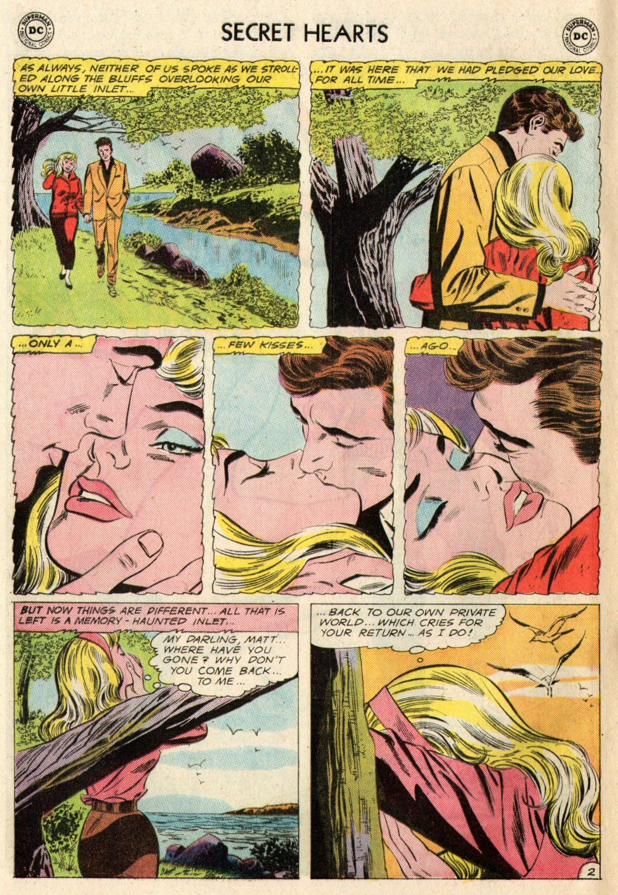 Read online Secret Hearts comic -  Issue #95 - 28