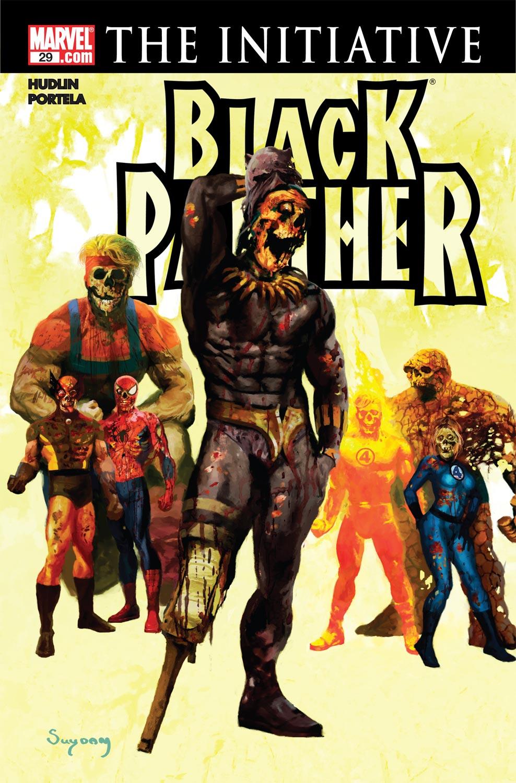 Black Panther (2005) 29 Page 1