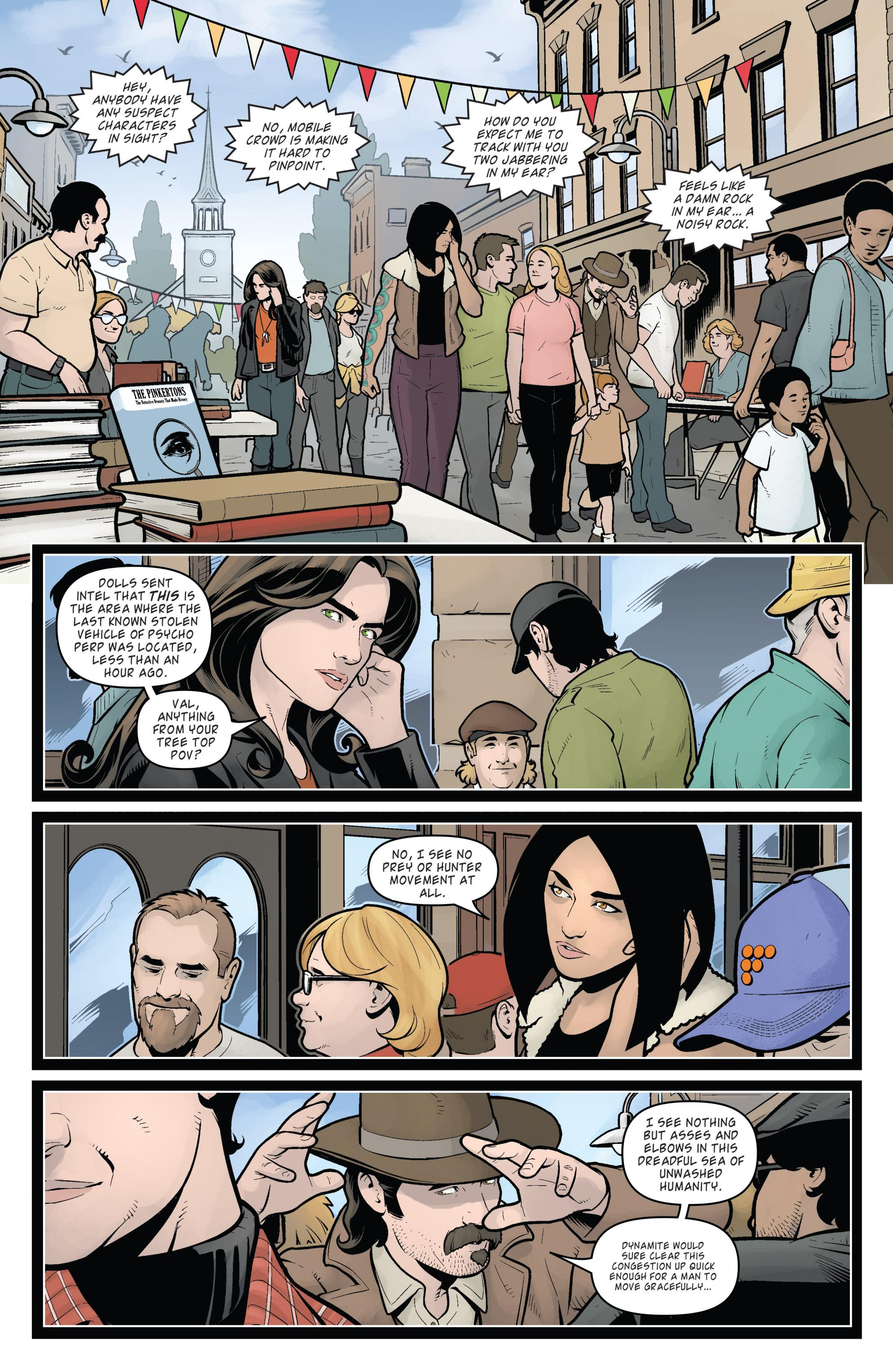 Read online Helena Crash comic -  Issue #4 - 33