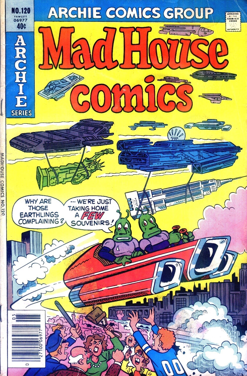 Read online Madhouse Comics comic -  Issue #120 - 1