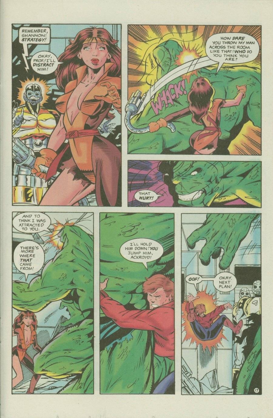 Read online Ex-Mutants comic -  Issue #7 - 22
