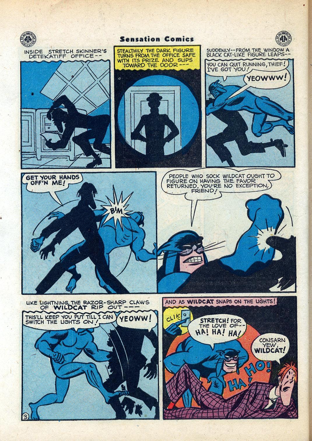 Read online Sensation (Mystery) Comics comic -  Issue #45 - 44