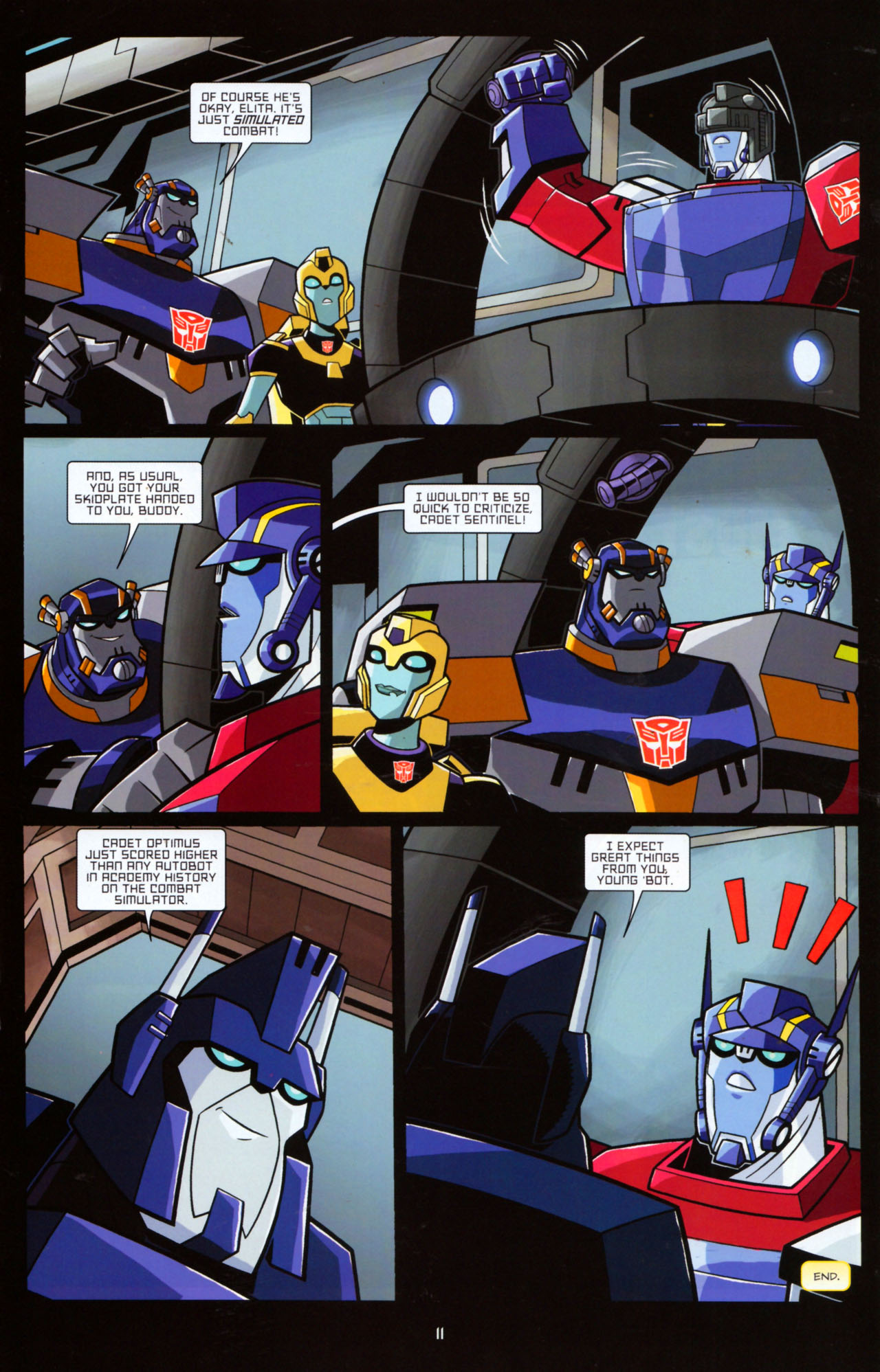 Read online Transformers Animated: The Arrival comic -  Issue #5 - 15