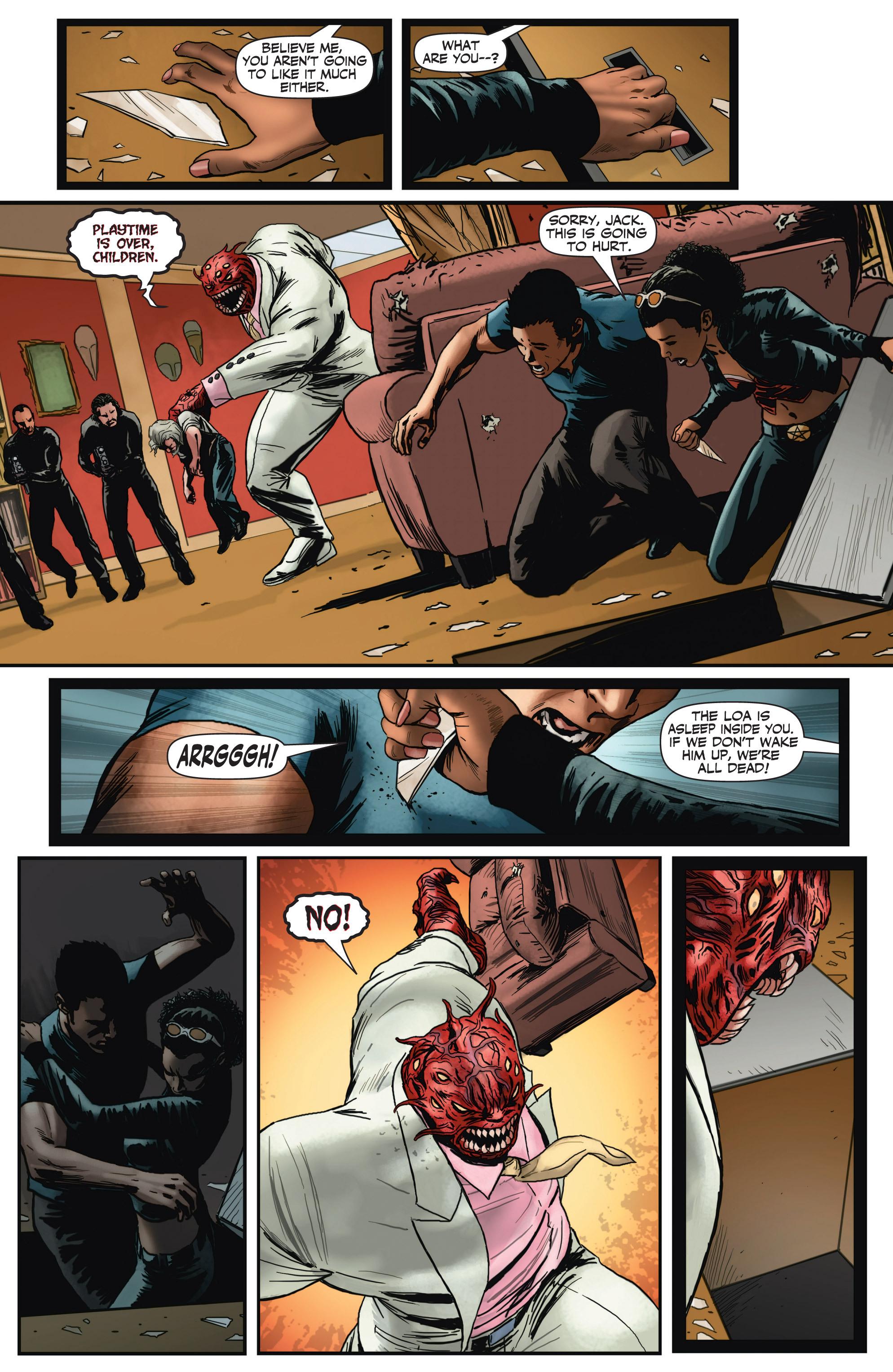 Read online Shadowman (2012) comic -  Issue #3 - 8