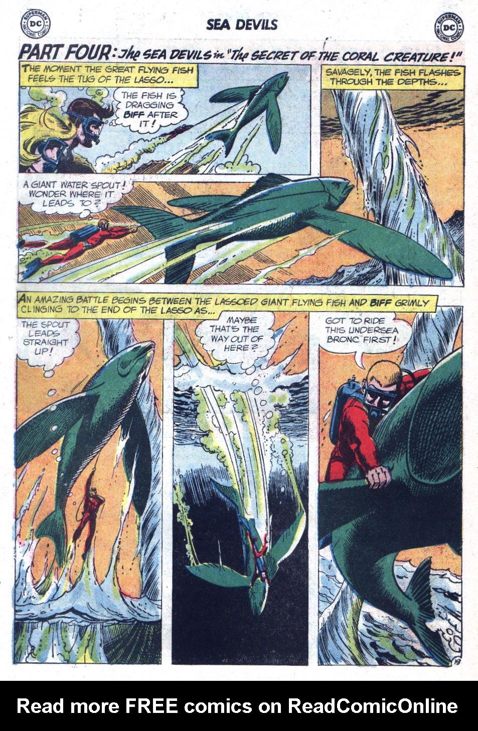 Read online Sea Devils comic -  Issue #9 - 27