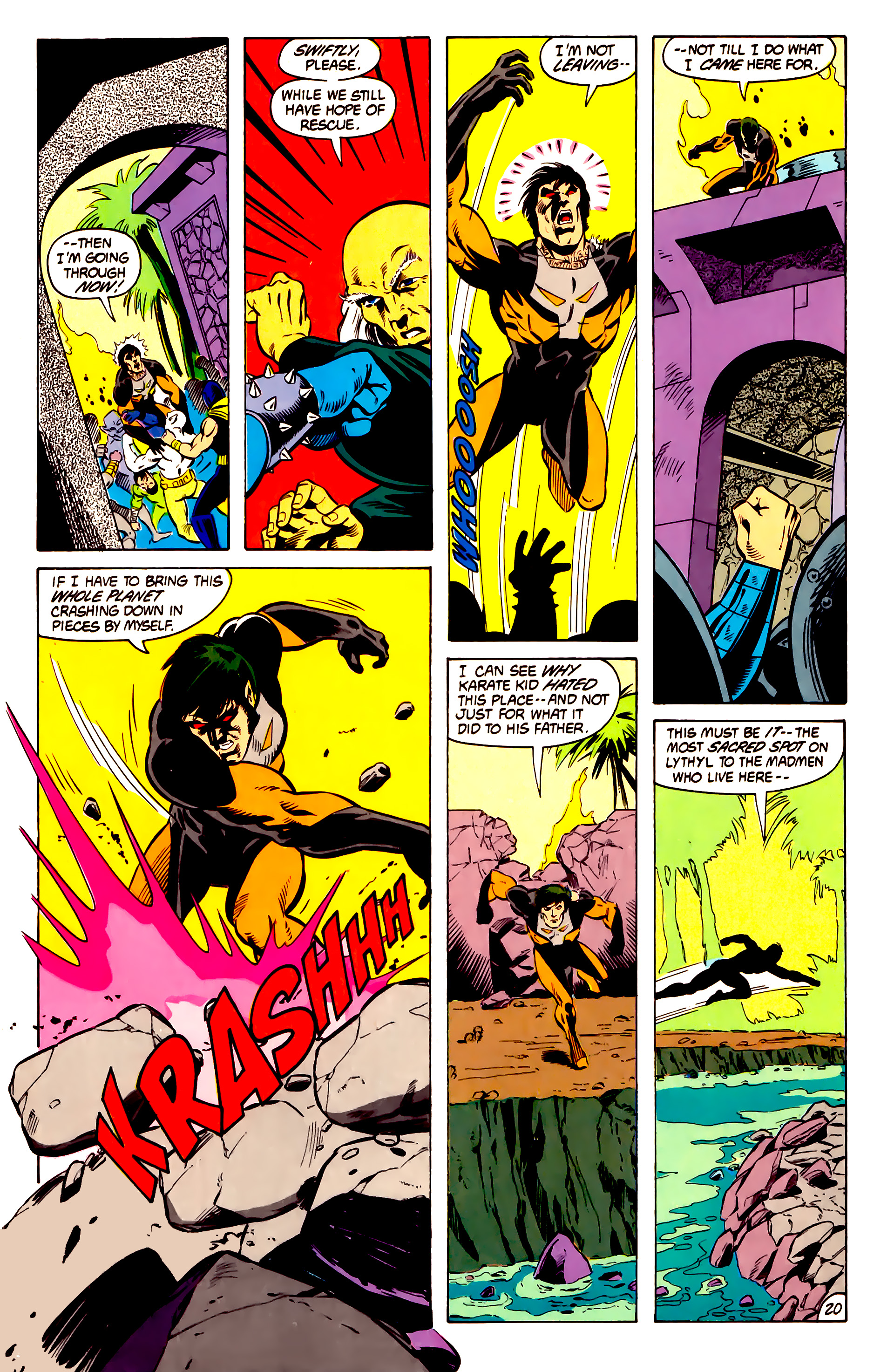 Legion of Super-Heroes (1984) 13 Page 21