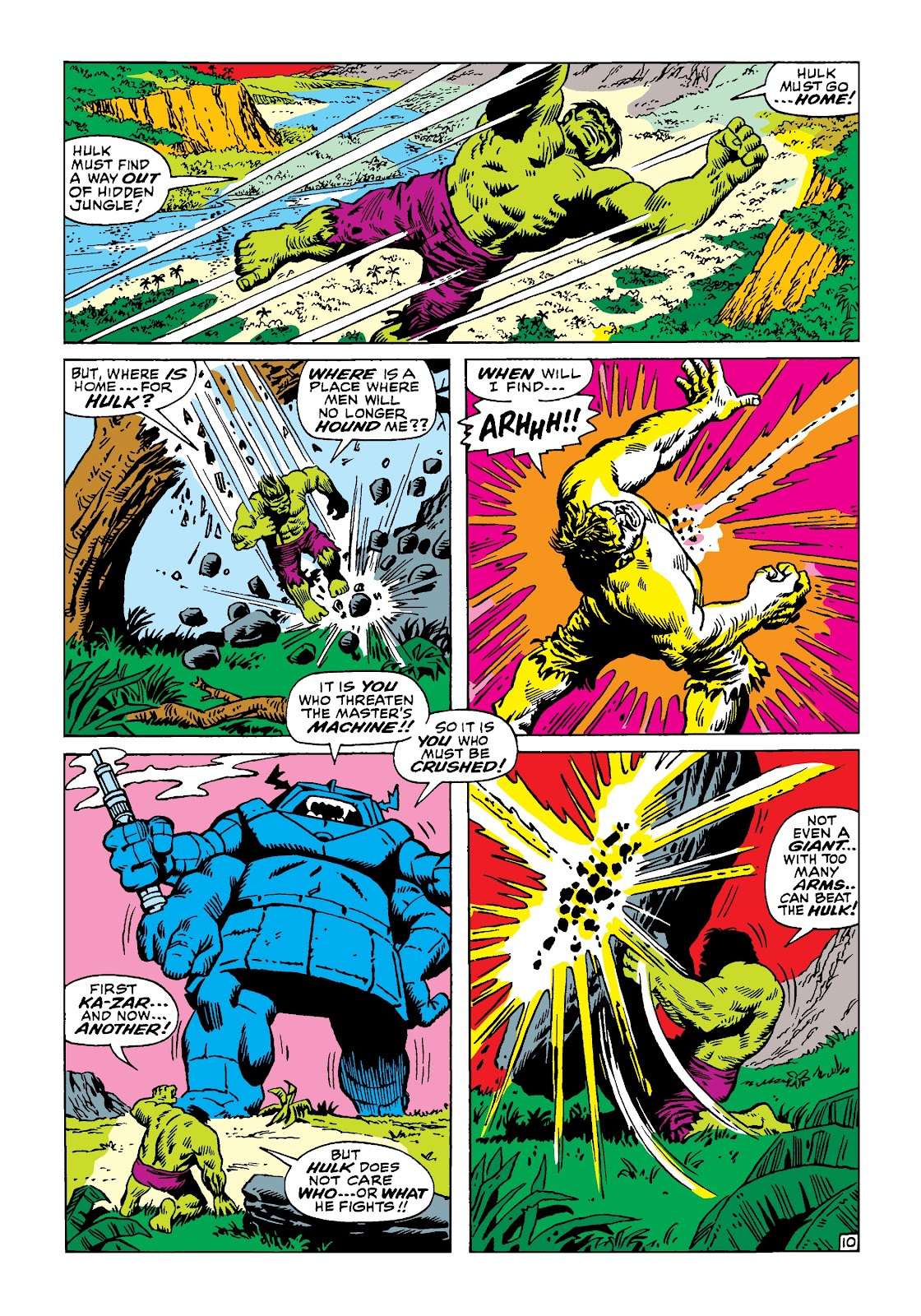 Read online Marvel Masterworks: The Incredible Hulk comic -  Issue # TPB 4 (Part 3) - 17