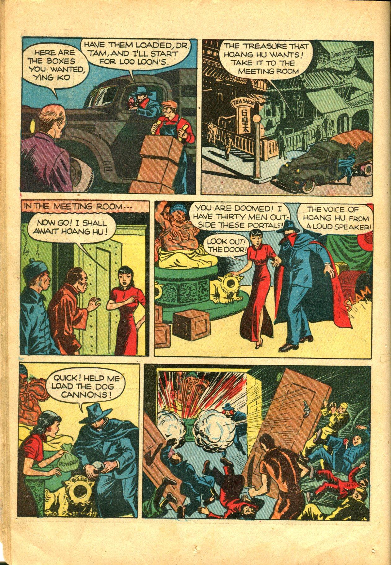 Read online Shadow Comics comic -  Issue #10 - 26