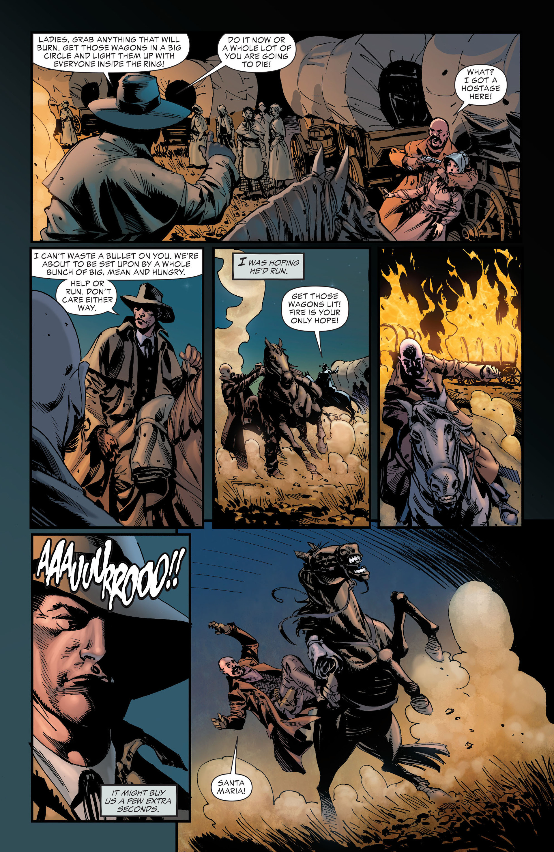Read online All-Star Western (2011) comic -  Issue #19 - 26