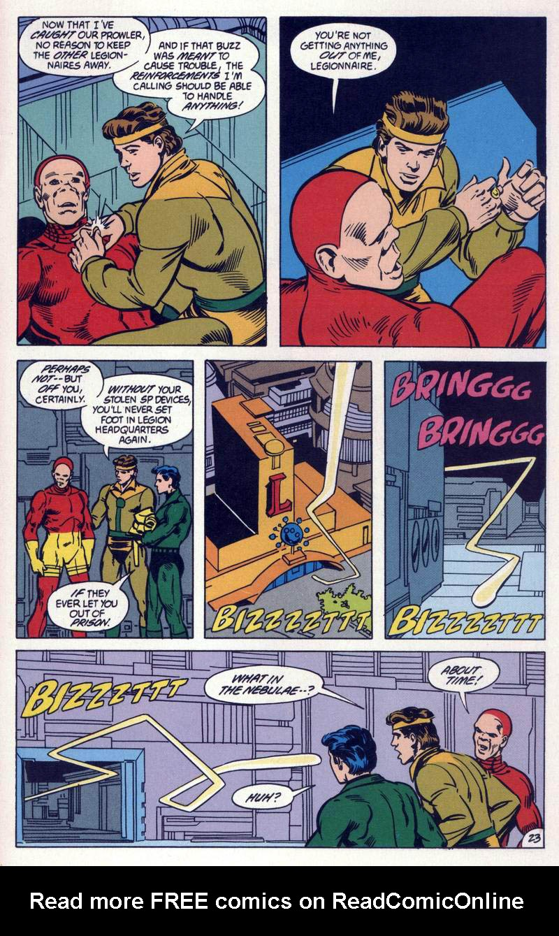 Legion of Super-Heroes (1984) 59 Page 23