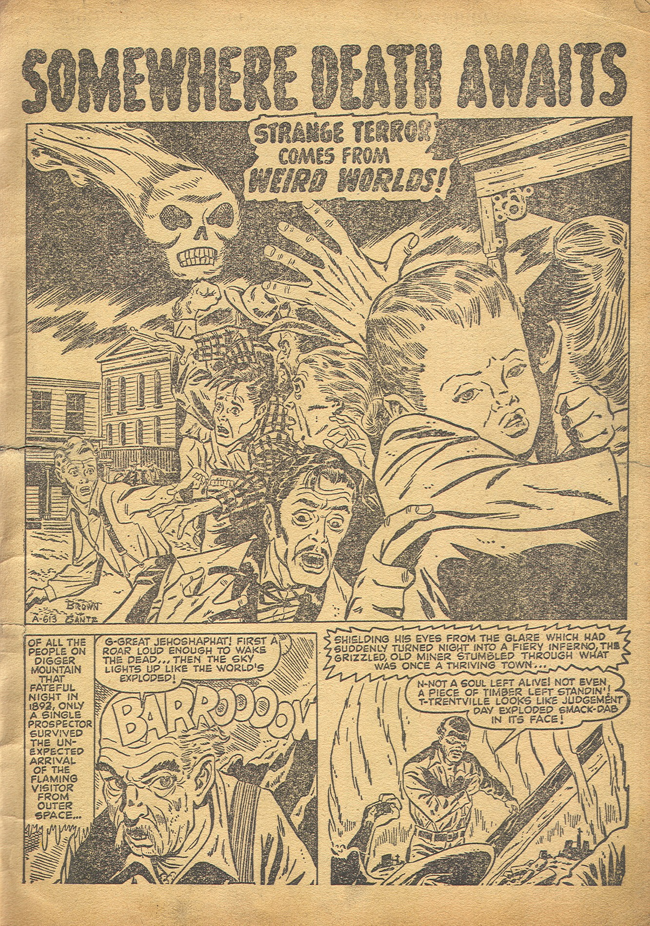 Read online Adventures into Weird Worlds comic -  Issue #8 - 2