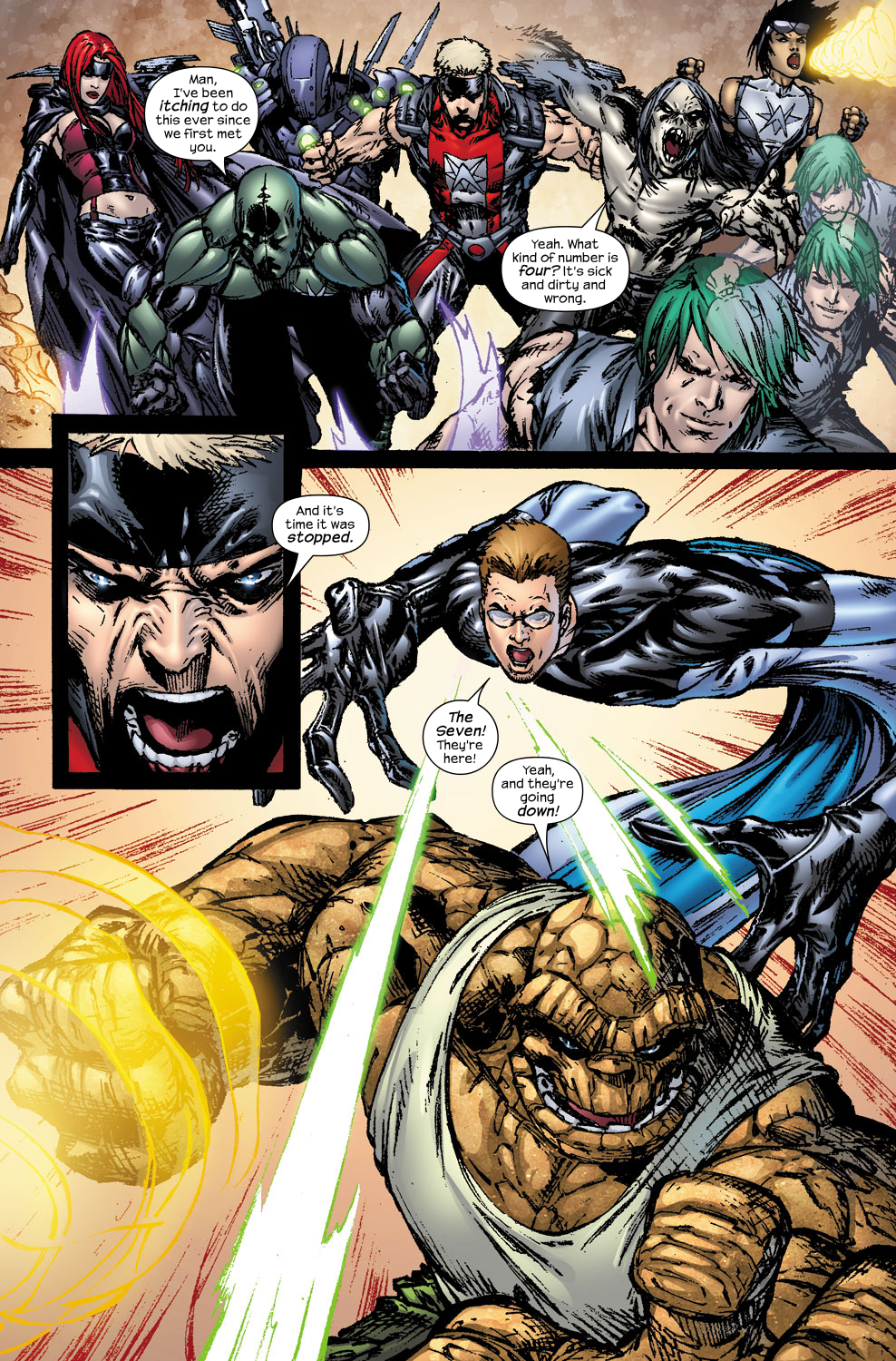 Read online Ultimate Fantastic Four (2004) comic -  Issue #56 - 20