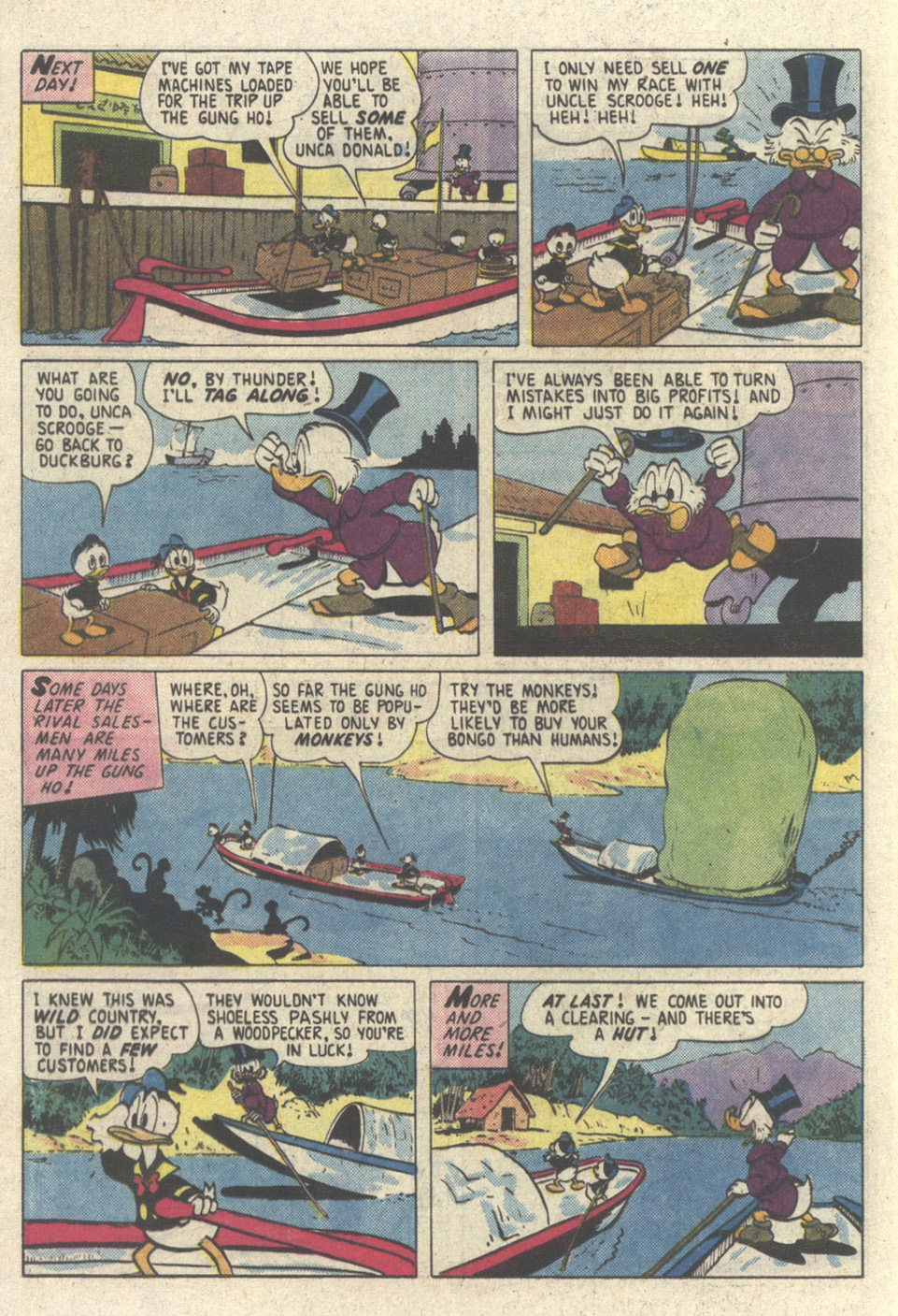 Read online Uncle Scrooge (1953) comic -  Issue #213 - 12