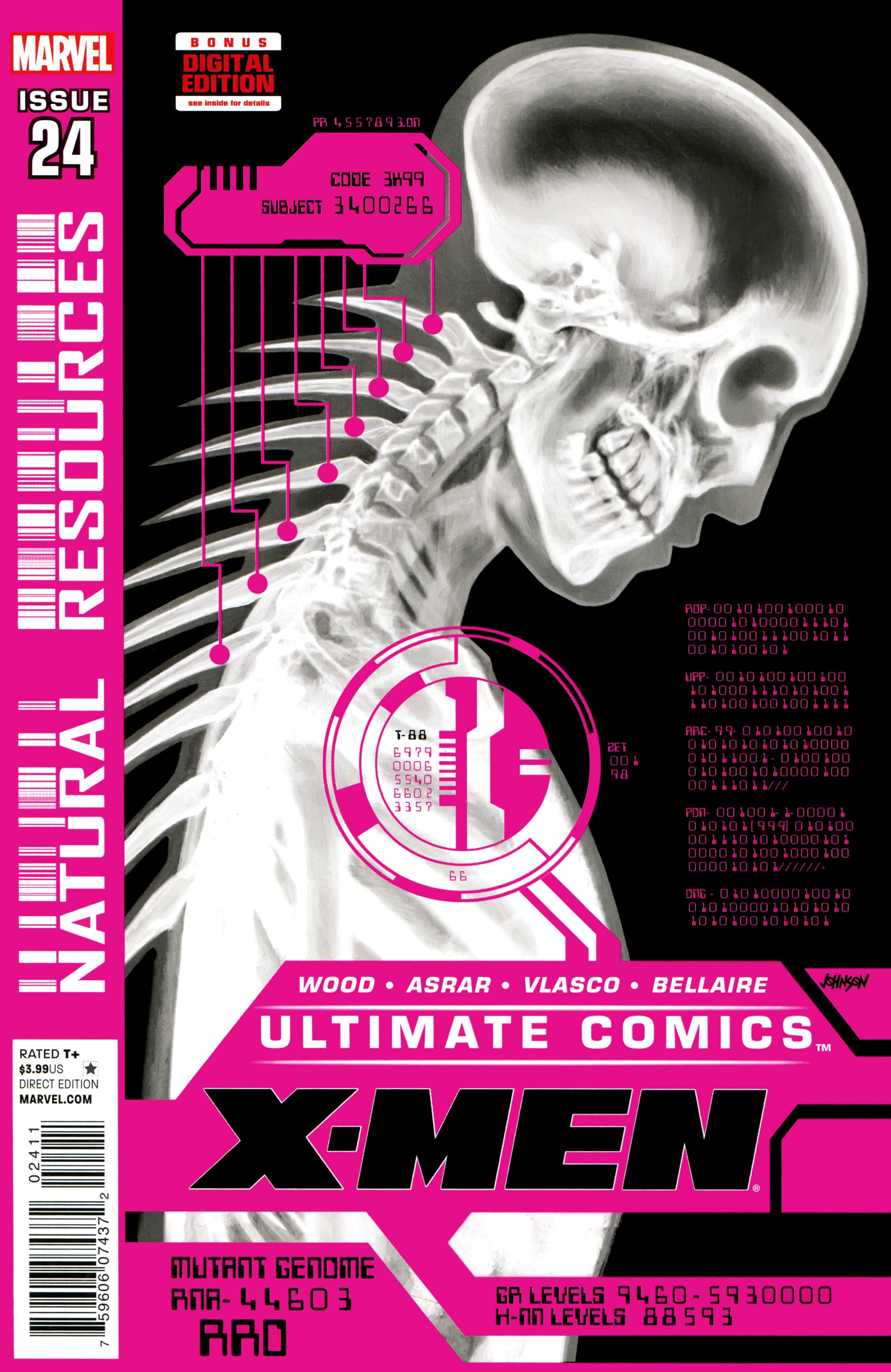 Read online Ultimate Comics X-Men comic -  Issue #24 - 1