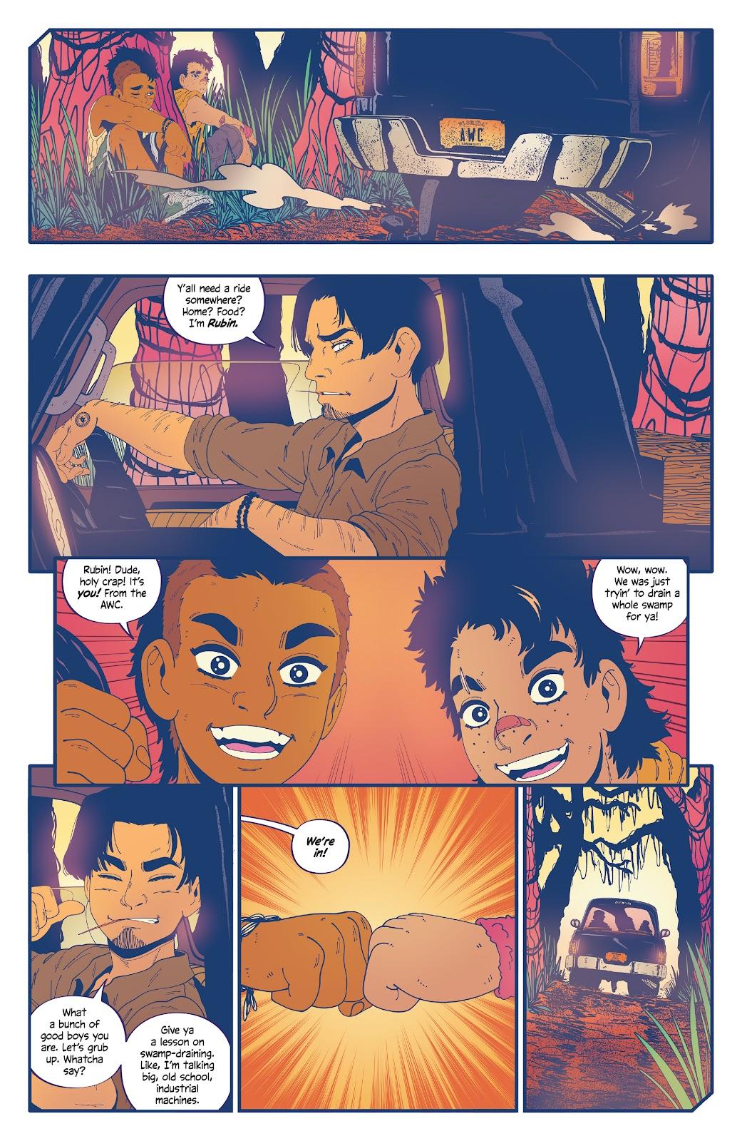 Read online b.b. free comic -  Issue #3 - 13