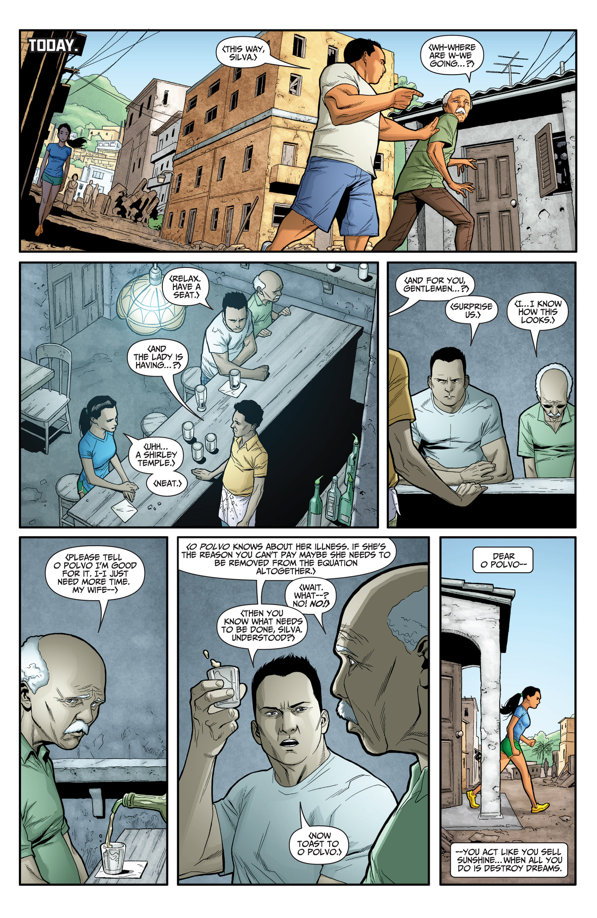Read online Archer and Armstrong comic -  Issue #24 - 10