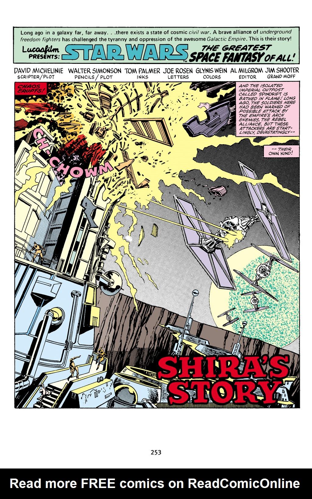 Read online Star Wars Omnibus comic -  Issue # Vol. 16 - 249
