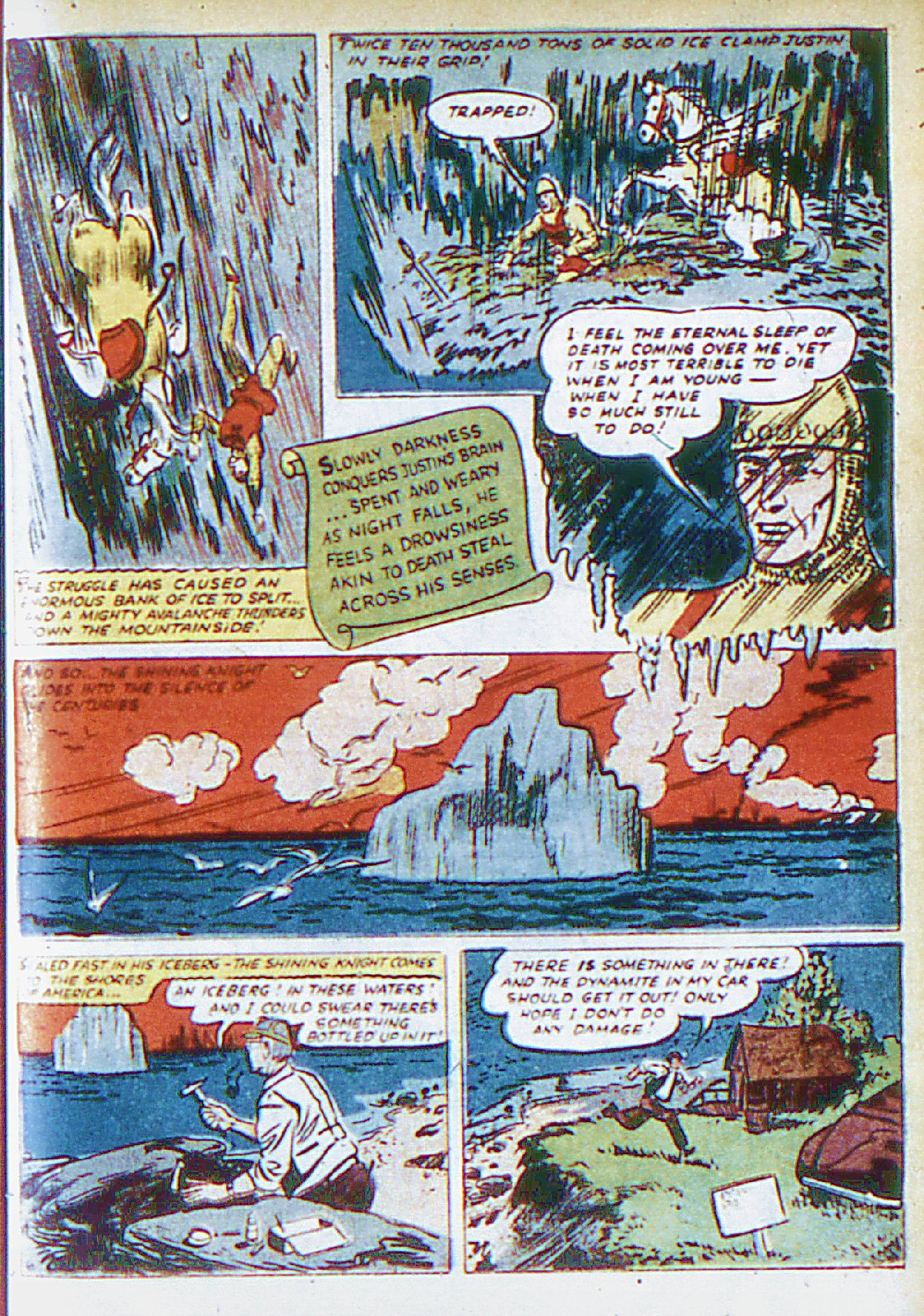 Read online Adventure Comics (1938) comic -  Issue #66 - 22