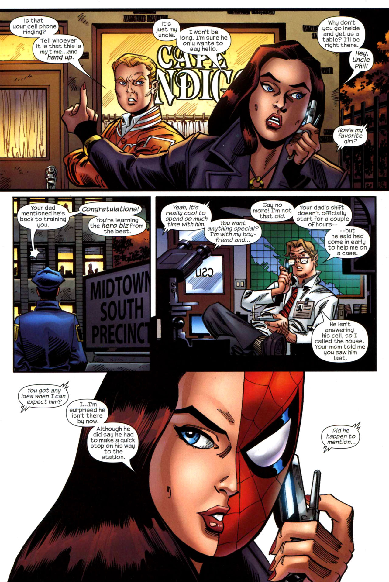 Read online Amazing Spider-Girl comic -  Issue #21 - 4