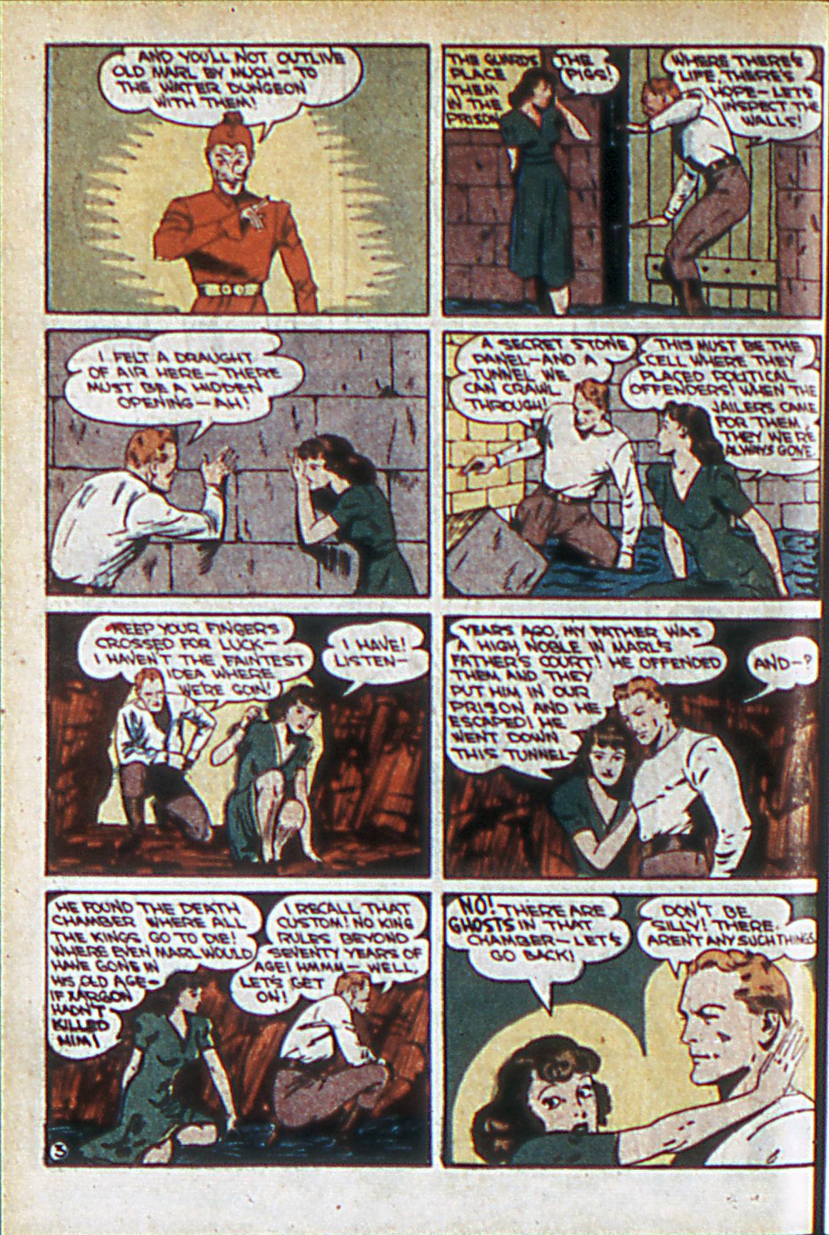 Read online Adventure Comics (1938) comic -  Issue #60 - 35