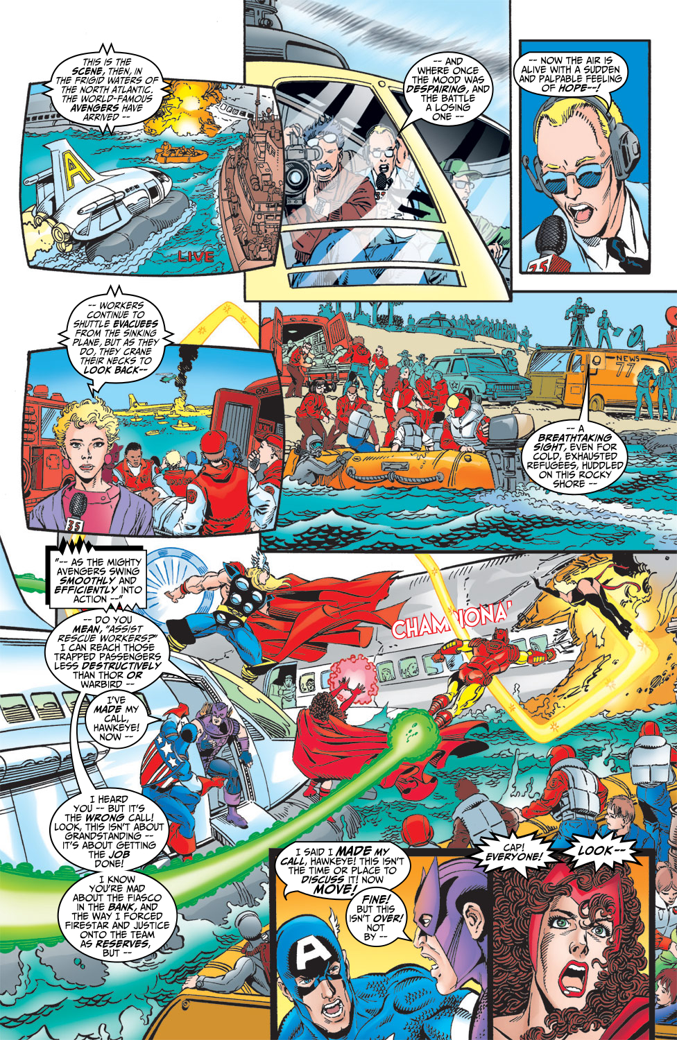 Read online Avengers (1998) comic -  Issue #5 - 10