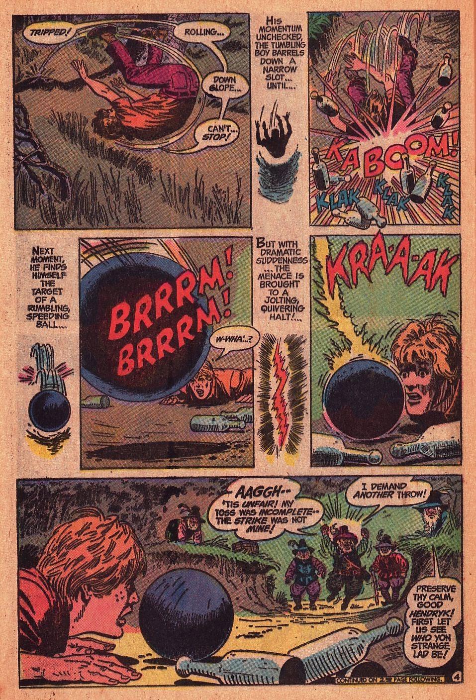 Read online Strange Sports Stories (1973) comic -  Issue #1 - 18