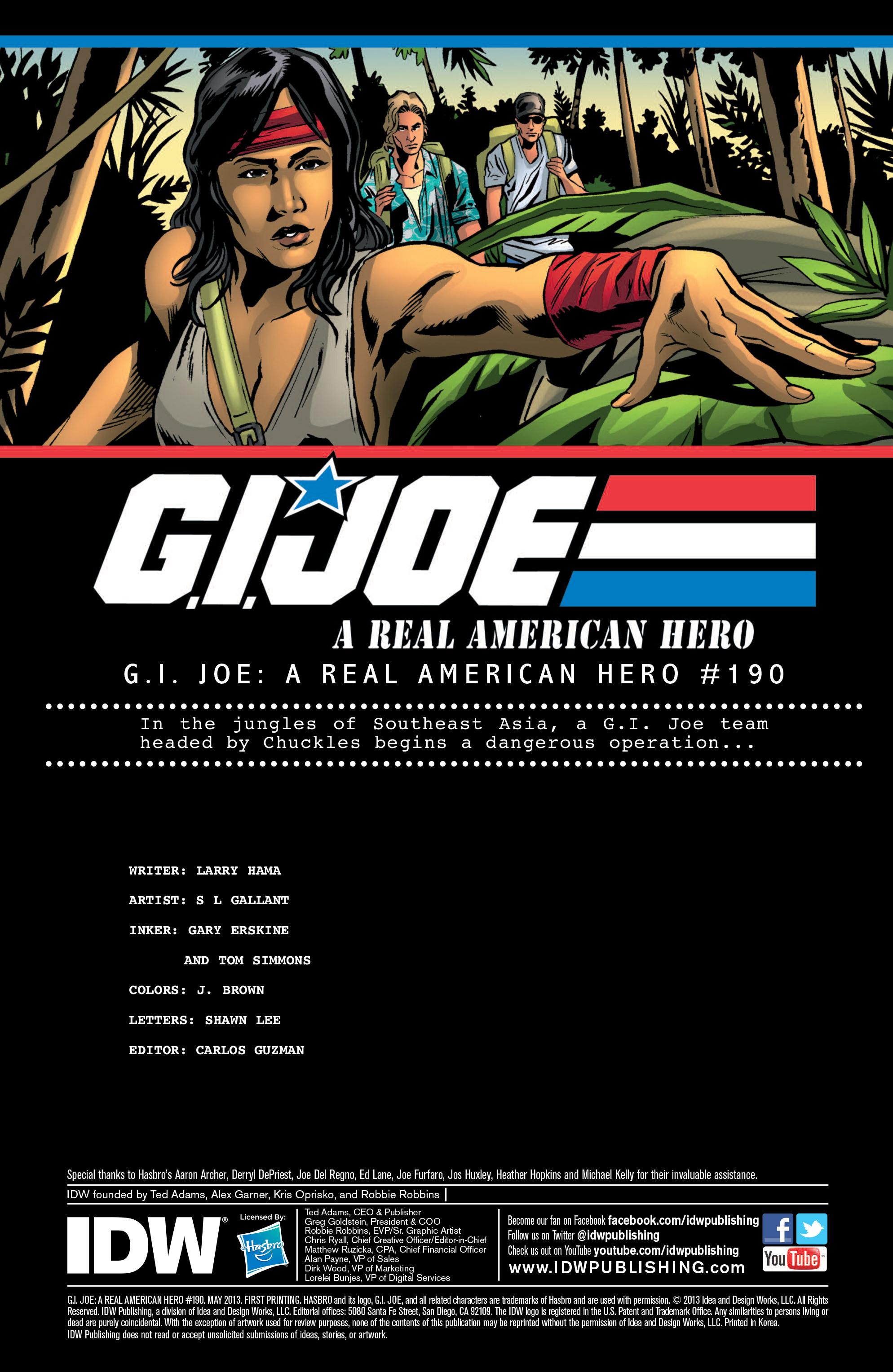 G.I. Joe: A Real American Hero 190 Page 2