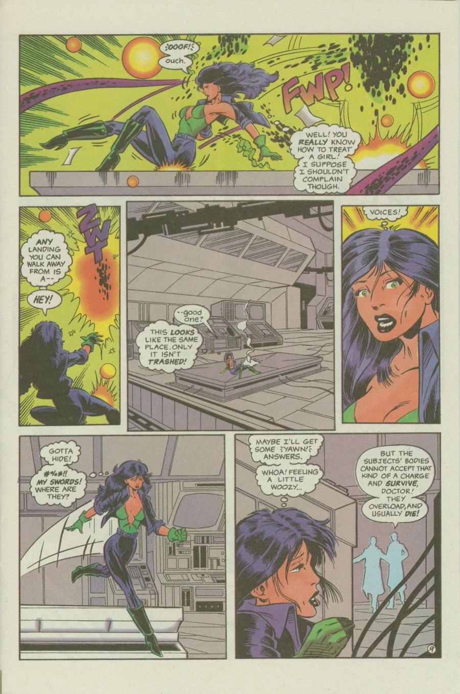 Read online Ex-Mutants comic -  Issue #6 - 13