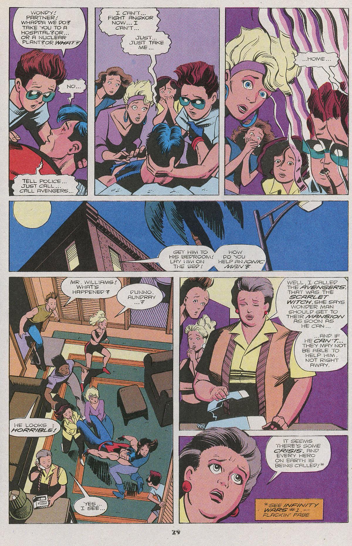 Read online Wonder Man (1991) comic -  Issue #11 - 21
