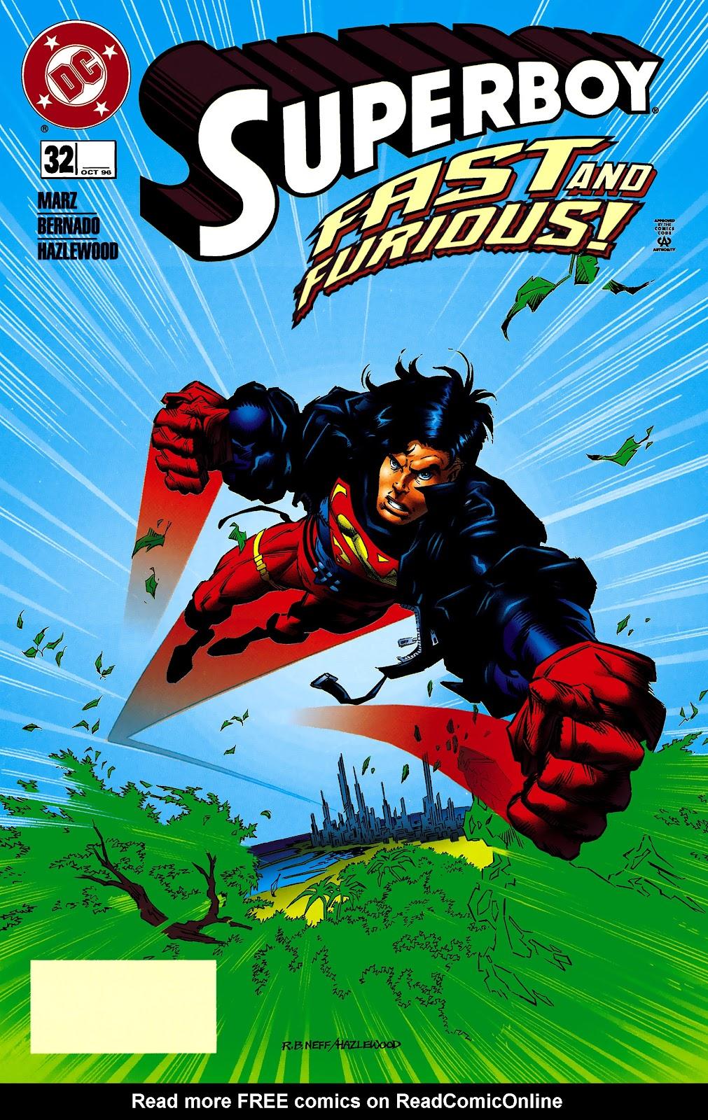 Superboy (1994) 32 Page 1