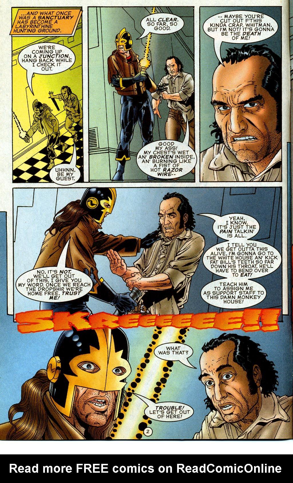 Read online UltraForce (1995) comic -  Issue #8 - 3